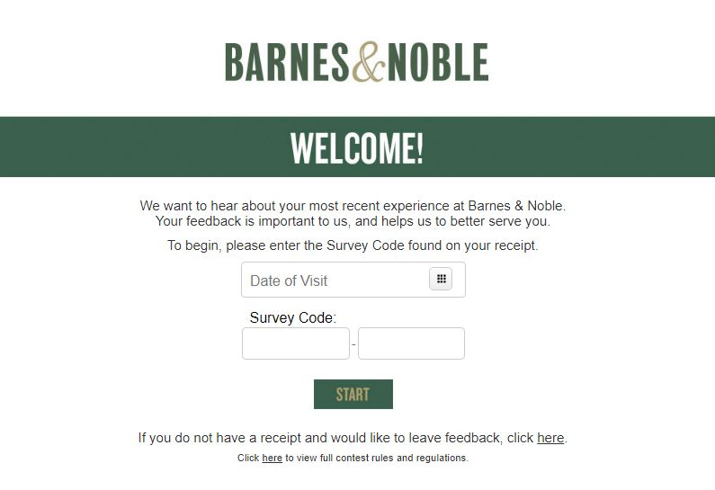Barnes & Noble Survey
