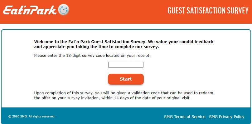 Eat'n Park Survey