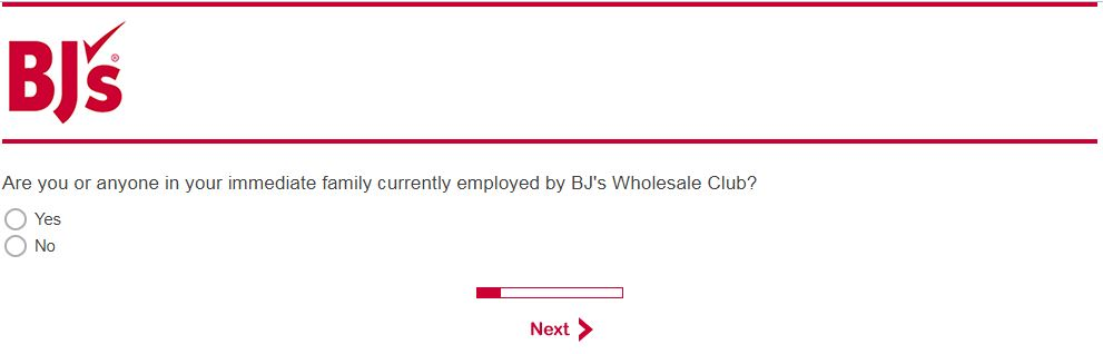 BJ's Satisfaction Survey